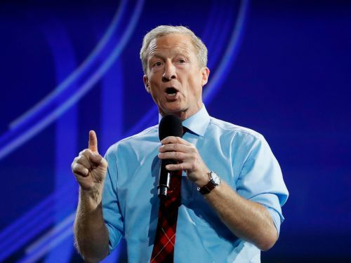 Billionaire presidential candidate Tom Steyer says capitalism is failing, but that progressive Democrats shouldn't put 'a ceiling on the dreams and ambitions of Americans'