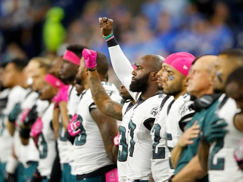 NFL players have a wide range of reactions and responses to the new anthem policy