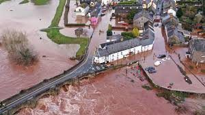 Storm Dennis: Heavy rain and winds batter in U.K.; hundred evacuated and thousand homes flooded