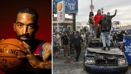 'It ain't hate crime, he broke my window!' NBA star J.R. Smith explains why he 'whooped white boy's ass' amid LA riots