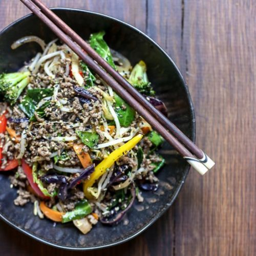 Sriracha Honey Beef Stir Fry