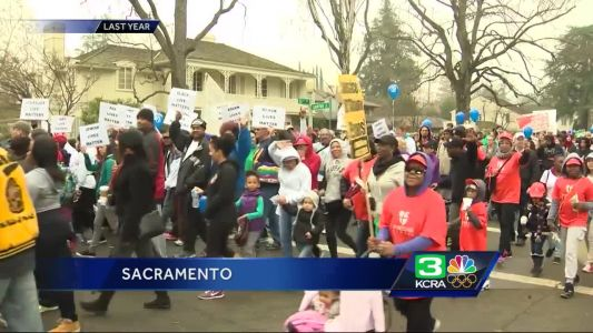 Sacramento gets ready for the MLK March for The Dream