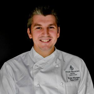 Evan Morgan Joins Four Seasons Hotel Vancouver as YEW seafood + bar's Restaurant Chef