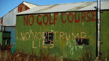 Scottish Dunes Trump Promised To Protect On His Golf Course Are Ruined