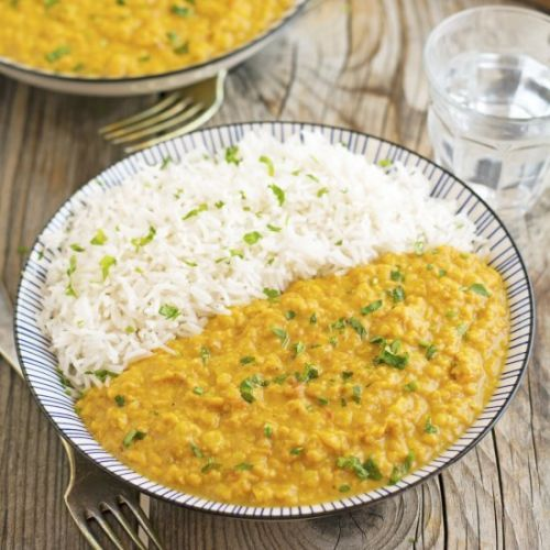 Crock-Pot Curried Red Lentils
