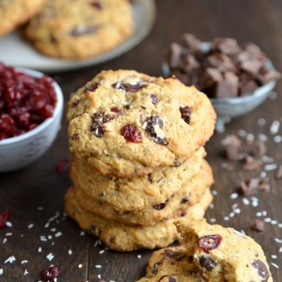 Cranberry & Chocolate Cookies