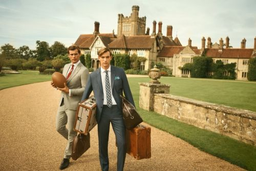 George & Matt Take a British Road Trip for Hackett Spring '20 Campaign