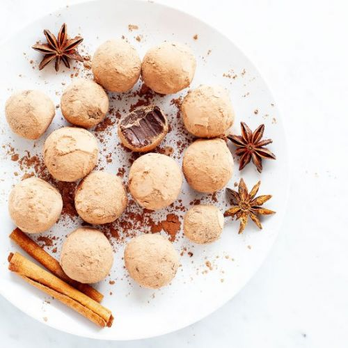 Five-Spice Chocolate Truffles