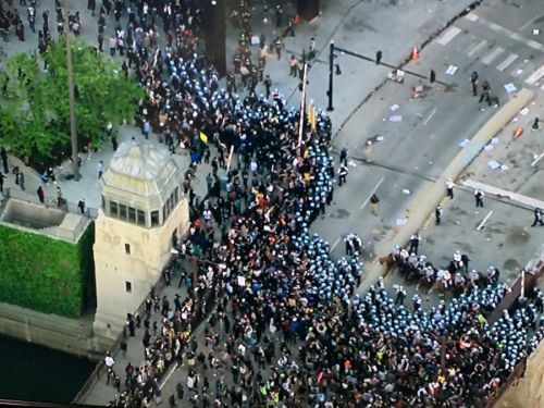 LIVE BLOG: Restrictions in place Sunday after chaotic night in Chicago