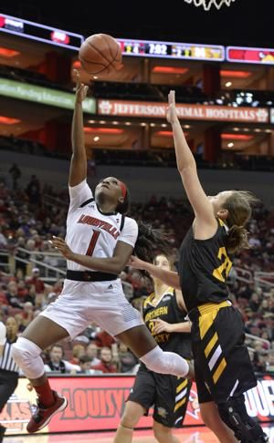 Evans leads No. 4 Louisville women past Northern Kentucky