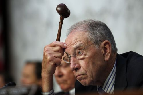 Chuck Grassley fumes about the Christine Blasey Ford-Brett Kavanaugh saga in a series of bizarre tweets