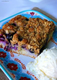 Grape Streusel Cake