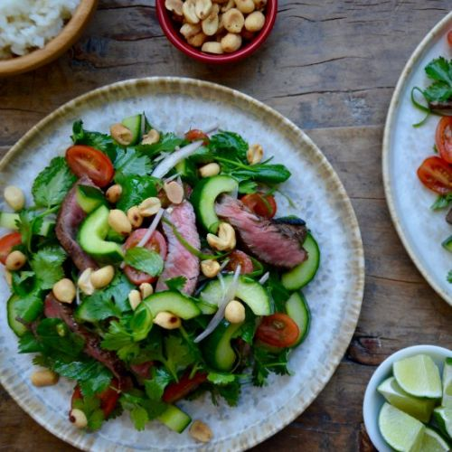 Thai Beef Salad with Lime Dressing