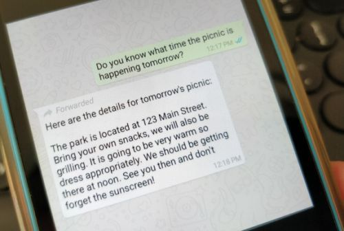 WhatsApp now flags 'forwarded' messages to combat fake news