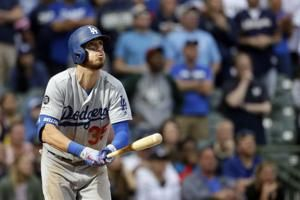 Bellinger robs Yelich, homers off Hader, Dodgers top Brewers