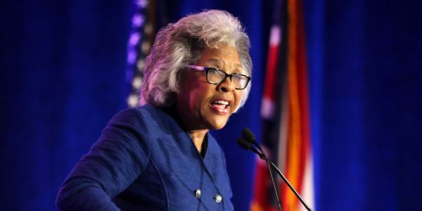 Capitol police arrested Rep. Joyce Beatty as she led a demonstration to advocate for voting rights