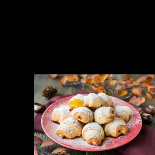 Rugelach with Apricot Jam