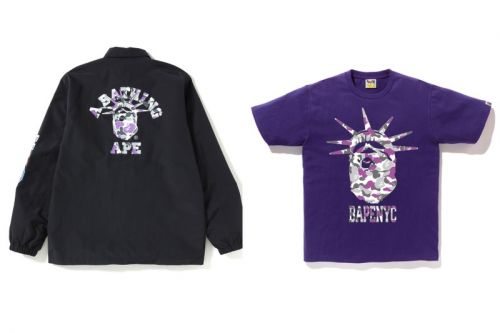 BAPE Drops an Exclusive NYC-Themed Collection