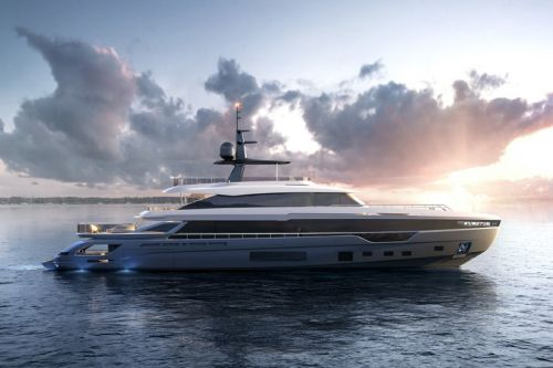 Azimut's Largest Grande Trideck Megayacht Is Oncourse for a 2021 Delivery
