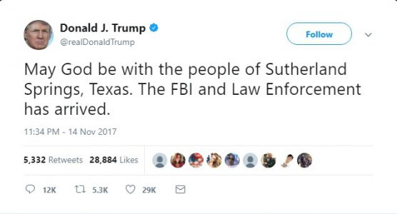 Trump Tweets About Wrong Mass Shooting