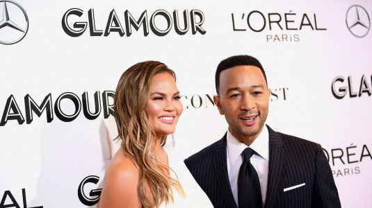 Chrissy Teigen Starts Crying About John Legend On Stage In The Most Adorable Way