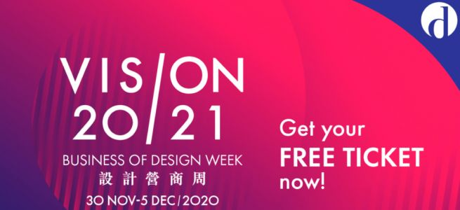 JOIN 100+ GLOBAL EXPERTS AT BUSINESS OF DESIGN WEEK 2020