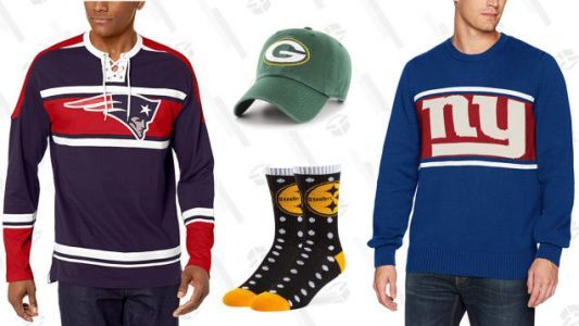 Get Ready For Game Day and Save Up to 40% Off NFL Apparel