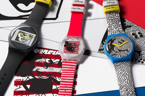 Swatch Brings Back Three Keith Haring-Designed Mickey Mouse Watches