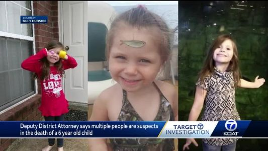 Authorities say there are multiple suspects in death of 6-year-old girl