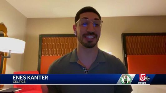 Celtics' Enes Kanter shares video from inside NBA bubble at Disney