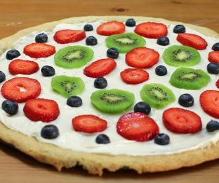 Easy Dessert Pizza