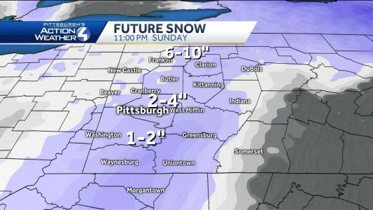 Snow and Icy Conditions Sunday Morning