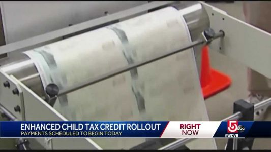 Enhanced child tax credits rollout today