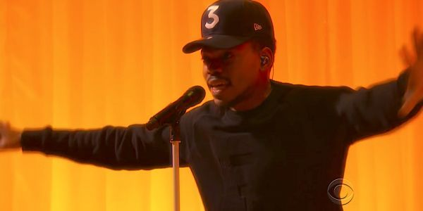 Chance the Rapper debuted a new song about the trials of the American Dream on Colbert
