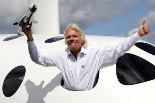 """Richard Branson Says He Is Traveling to Space with Virgin Galactic """"in Months"""""""