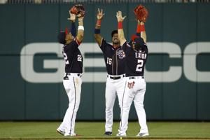 Soto, Adams homer in 8th inning, Nats beat Marlins 12-10