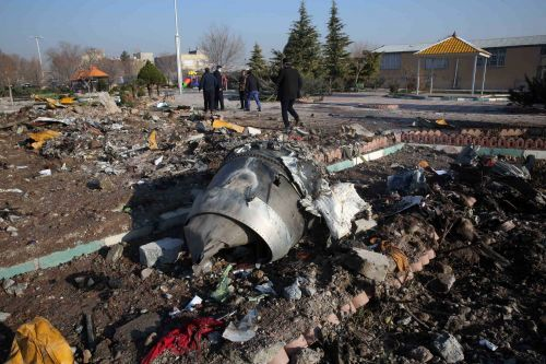Iran will send downed plane's black boxes to Ukraine for analysis