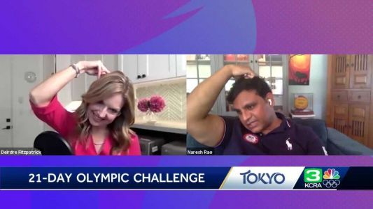 21-Day Challenge: Olympic water polo doctor's tip for battling neck pain