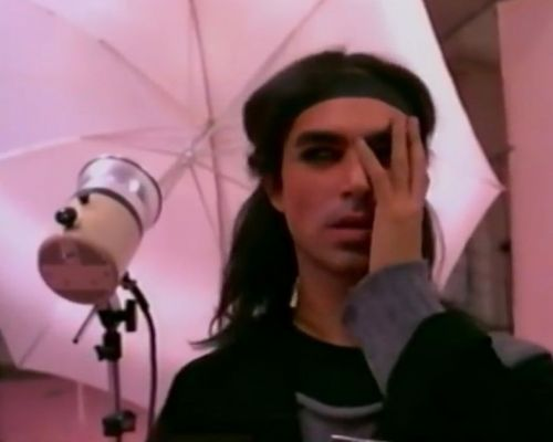 That time Steven Meisel was in a trashy fashion movie