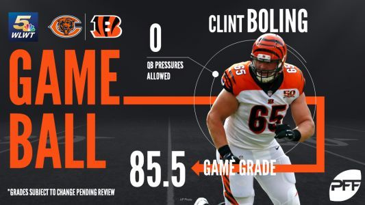 Report card: Grading the Bengals' loss to the Bears