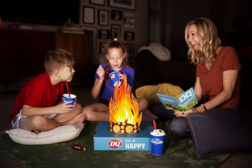 DQ Brand Delivers Happiness with the QSR Industry's First-Ever Experience Box