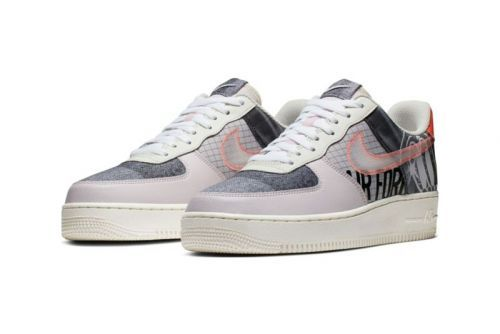 "Nike Preps Patchworked Air Force 1 ""Zine"""