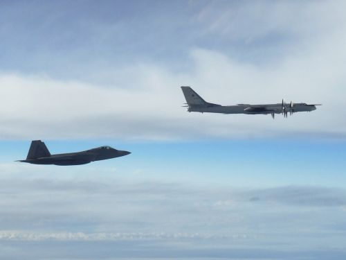What the Russian Tu-95 bombers intercepted by US F-22 stealth jets on September 11 were up to