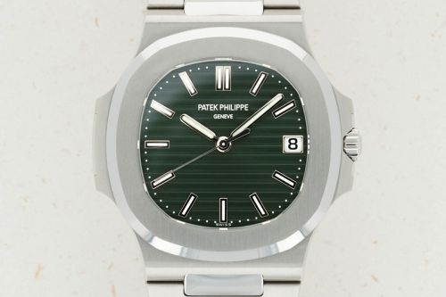 Second Olive Green Patek Philippe Nautilus Hits The Auction Market