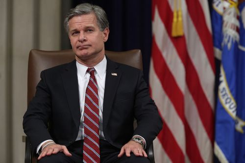 Wray dodges question on Trump's attack on the squad