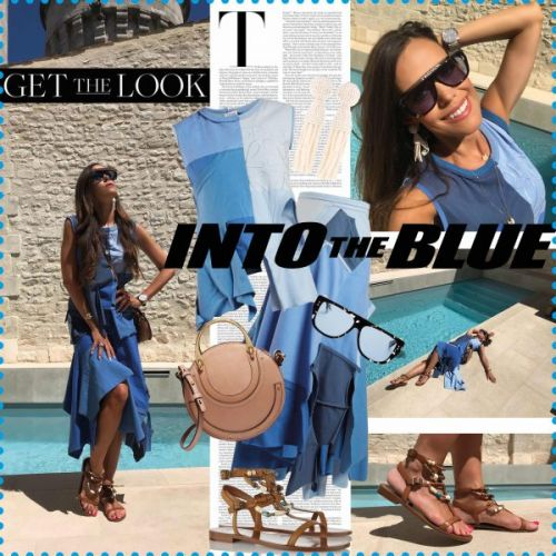 My Look: Into the Blue