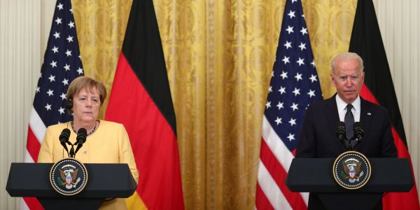 Biden says US and Germany are launching climate and energy partnership