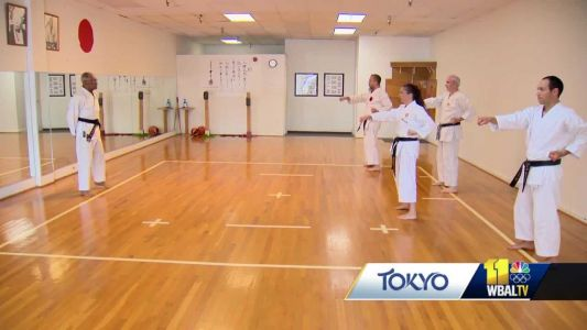 Senseis explain karate as sport competes in Olympics for first time