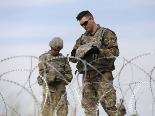 The largest US active-duty mobilization to US-Mexico border under Trump may already be winding down