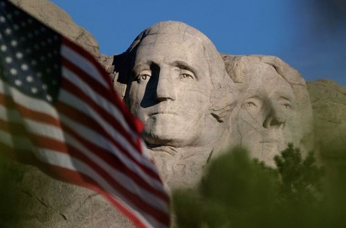 President Trump at Rushmore: Jets and fireworks, but masks remain optional